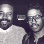 Stix Hooper and Herbie Hancock